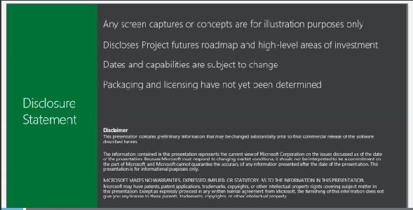 ProjectKeyNotesDisclosure