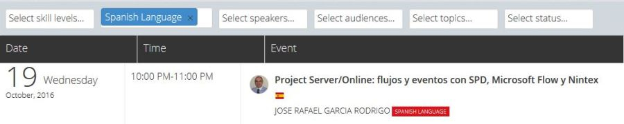 Project Server/Online: flujos y eventos con SPD, Microsoft Flow y Nintex